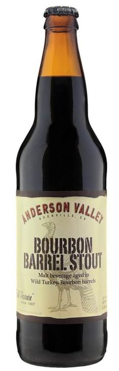 A case of Anderson Valley Bourbon Barrel Stout would go great next to my Wild Turkey Barrel. Ten points for the next visitor to Munich to bring me a bottle. And, Oktoberfest visitors this year will receive an extra pretzel and VIP seating at our O'fest tables for each Bourbon Barrel Stout that they bring.