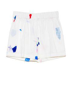 Venice Shorts - Mending Print