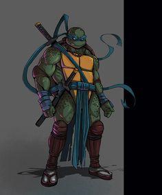 Leonardo TMNT by ~Teratophile on deviantART
