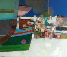 Leon Morrocco - Boats and Houses