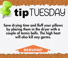 SERVPRO of Rock Hill and York County 803.324.5780 #tiptuesday #SERVPRO #rockhill…