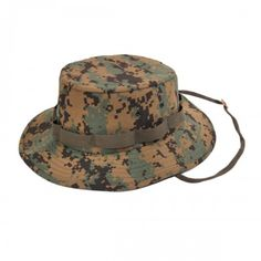 7a72fe9dbb7 ACU Digital Military Jungle Hat  Boonie style hat with adjustable chin  straps