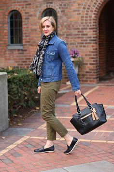05fb09fc39bd Fancy Stuff   Pretty Things - A Personal Style Journal of an Over 40  Introvert. Olive Green OutfitKhaki ...