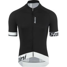 Santini Sleek 2.0 Jersey - Short-Sleeve - Men'sWhite
