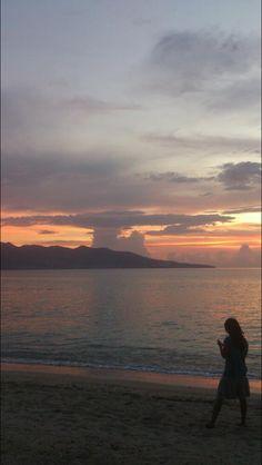 world kaboom I text, Sira beach Lombok Indonesia.