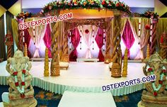 #Indian #Wedding #Wooden #Handicraft #Mandap #Dstexports