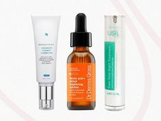 Dealing with dark spots? A Byrdie editor tested out the buzziest dark spot correctors on the market. Find out which ones work inside. Dark Spots Under Eyes, Dark Spots On Legs, Best Dark Spot Corrector, Dark Circles Makeup, Dark Circle Cream, Dry Skin On Face, Dark Complexion, Thing 1, Face Cleanser
