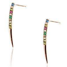 KATIE ROWLAND SPIKE EARRINGS - FORTNUM  MASON