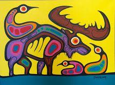 Enlightenment through the Animal Kingdoms of Mother Nature Inuit Kunst, Inuit Art, American Indian Art, Native American Art, American Modern, Canadian Art, Native Canadian, Canadian Culture, Kunst Der Aborigines