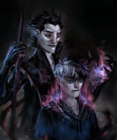 Pitch Black x Jack Frost Comics Dark Jack Frost, Jack Frost And Elsa, Dreamworks Movies, Disney And Dreamworks, Disney Pixar, Dark Disney, Disney Art, Jelsa, Jake Frost