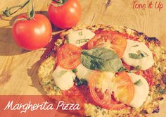 Calling all Pizza Lovers!!!! A healthy twist on the classic Margherita Pizza!