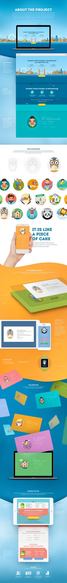 Master english | Marketing case on Behance