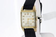 10K Gold Filled Waltham Wrist Watch  by timekeepersinclayton