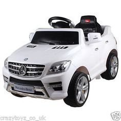 New Mercedes Ml350 6v Electric Ride On Kids Childoy Car With Remote Red