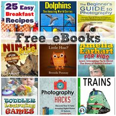 FREE EBOOKS: How To Take Amazing Photos, Easy Breakfast Recipes + More!