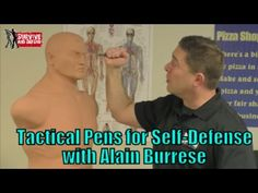 Tactical Pens for Self Defense with Alain Burrese