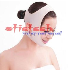 by dhl or ems 500pcs Wrinkle V Face Chin Cheek Lift Up Slimming Slim face Mask Ultra-thin Belt Strap Band
