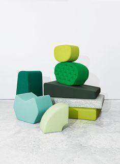 new campaign for danish textile-design company kvadrat Textures Patterns, Color Patterns, Shapes Images, Textiles, Danish Design, Textile Design, Color Inspiration, Upholstery, Furniture Design