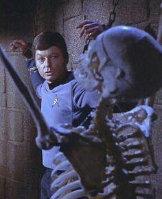 Bones with. Star Trek Series, Star Trek Original Series, Star Wars, Star Trek Tos, Science Fiction, James T Kirk, Star Trek Convention, Spock And Kirk, Star Trek Reboot