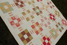 Southern Comfort queen size patchwork quilt