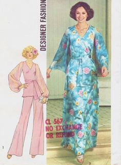 1970s Simplicity Sewing Pattern 7259 Womens Boho by CloesCloset, $12.00