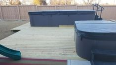 Severe Weather Max Pressure Treated Southern Yellow Pine Deck Instalation.  McKinney, TX