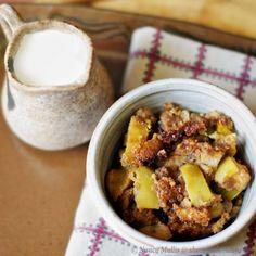 Grain-free apple pecan torte