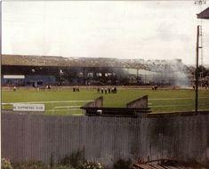 Eastville fire Bristol Rovers, Childhood Memories, Lost, Fire, Football, Soccer, Futbol, American Football, Soccer Ball