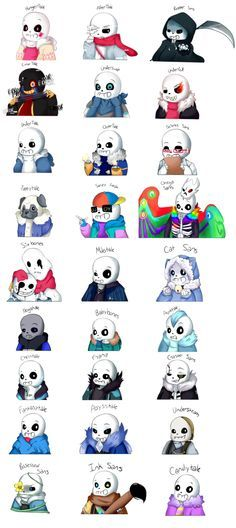 Boatload of Sans [Link me moree]>>They forgot about Abomination Sans.