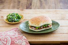 La Brea Bakery Turkey Salad Sandwich with Cranberry Vinaigrette