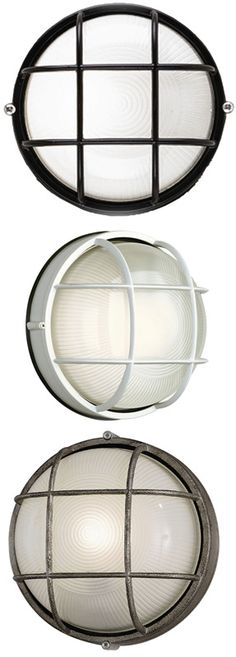 Forecast Lighting F90396 - Oceanview Nautical Outdoor Wall Fixture - 10 inches wide - FOR-F90396