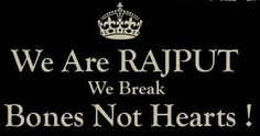 we are rajputs