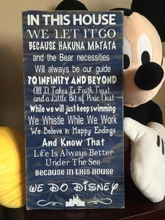 Disney Quotes Wood Sign – ABreezyCreation