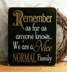 Whats normal..
