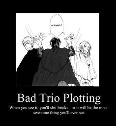 I don't see it, HELPPPPPP! Hetalia Anime, Hetalia Fanart, Hetalia France, Hetalia Headcanons, Bad Touch Trio, Weird Look, Spamano, Bad Friends, Hetalia Characters