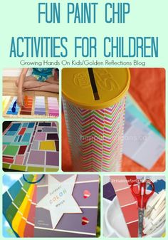 Fun paint child activities for children that are great for learning and fine motor skills.