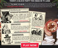 December TV Guide Promo 300% No Rules Match Bonus plus 30 Free Spins from RTG Casinos