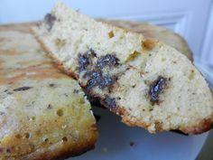 Gâteau à la poêle pépite choco et poudre de noisette