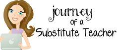 Journey of a Substitute Teacher: Great resources for substitutes AND classroom teachers. Teacher Freebies, Teacher Blogs, Teacher Resources, Teacher Stuff, Teaching Activities, Teaching Ideas, Substitute Teacher, Math Games, Math Math