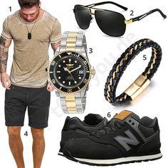 Lässiger Style für Männer mit Automatikuhr und Lederband #sommer #frühling #newbalance #invicta #outfit #style #fashion #ootd #herrenmode #männermode #outfit #style #fashion #menswear #mensfashion #inspiration #menstyle #inspiration