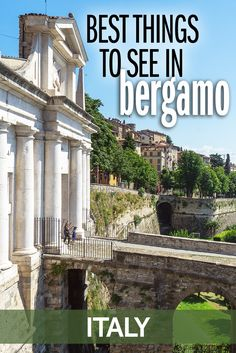 The historic Italian city of Bergamo has an incredible collection of sights - here are my tips for the best things to see in Bergamo. It's easy to do as a day trip from Milan.