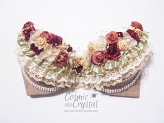 AKI woodland creature rave bra by CosmicCrystal on Etsy, $60.00