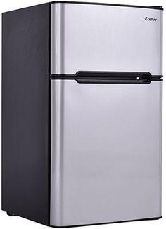 2 Door Compact Refrigerator