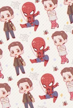 Peter Parker || Spider-Man || Avengers Infinity War / Lock screen ||Cr: 壳