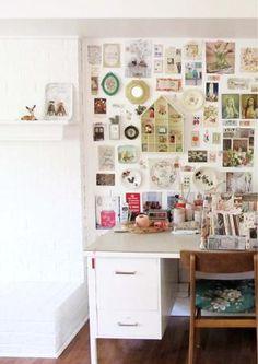 """lovely """"wall"""" board - from dottieangel"""