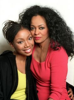 Diana Ross & Brandy