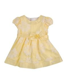 LAURA BIAGIOTTI BABY Girl's' Dress Yellow 18 months