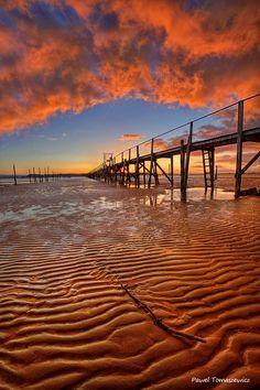 Sandbanks Pier - Dorset, England