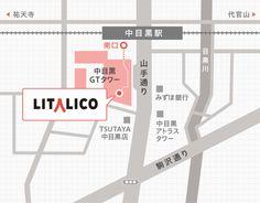 アクセスマップ | 株式会社LITALICO