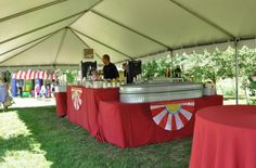 Bar set-up under tent. Metal Trough, Bar Set Up, Tents, Special Events, Purpose, Frame, Teepees, Picture Frame, Frames